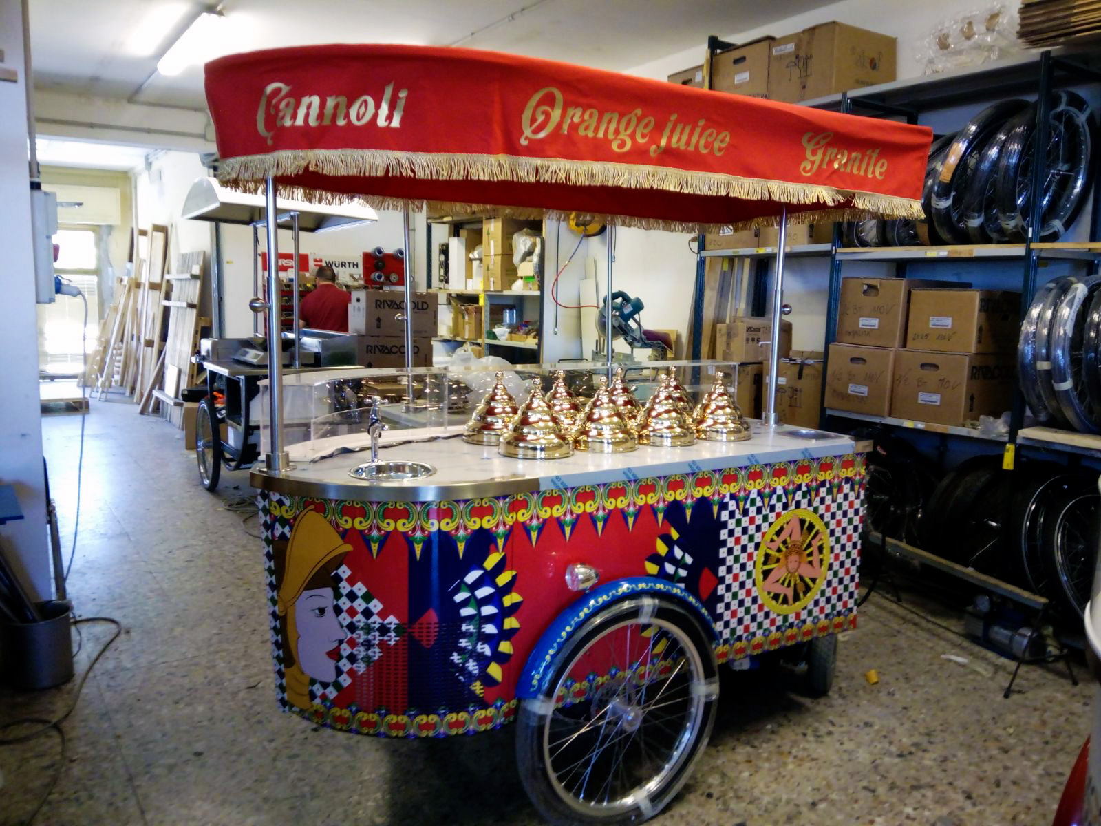 Sicilian Cart of Nassi