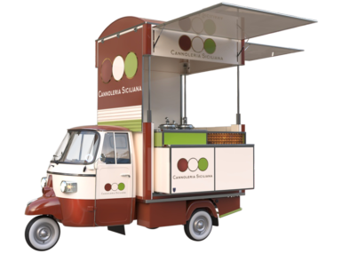 Food Truck for sale cannoli