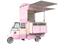 Ape Piaggio equipped to sale pastries