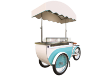 Katerina Slim Vision ice cream cart