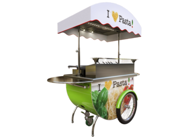 Pasta cart for event