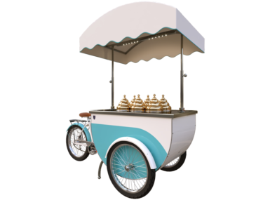 Katerina ice cream cart