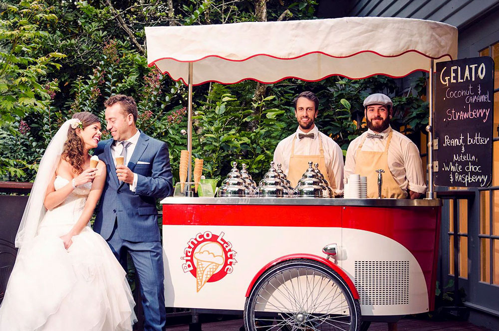ice cream cart for catering