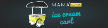 Mama Shelter Loves Ice cream cart