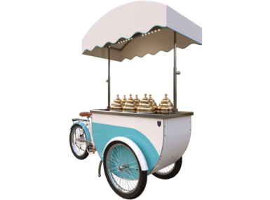 Katerina ice cream cart Slim P7