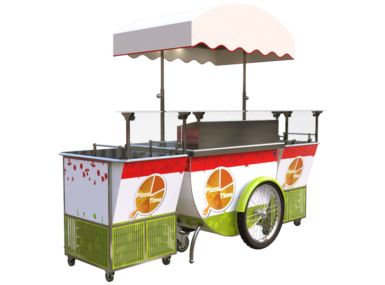 Pizza Cart